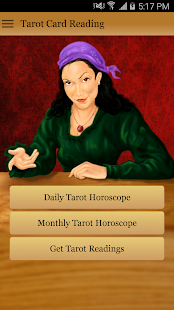 Tarot Card Reading- screenshot thumbnail