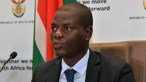 Minister of justice and correctional services Ronald Lamola.
