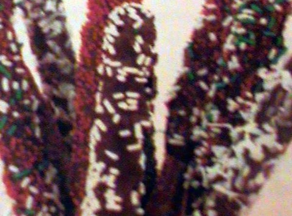 Chocolate Christmas Sticks Recipe