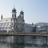 Jesuit Church of Lucerne in Lucerne, Lucerne, Switzerland
