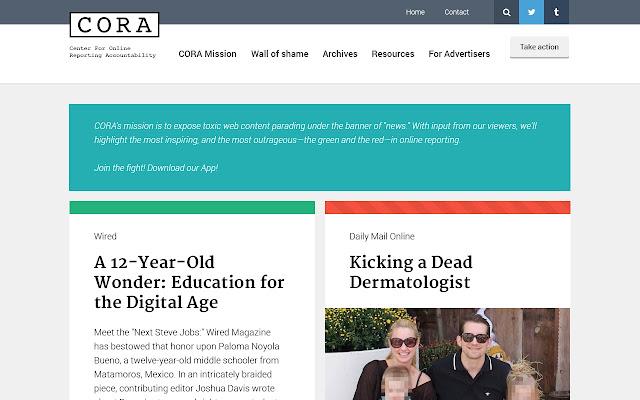 CORA report