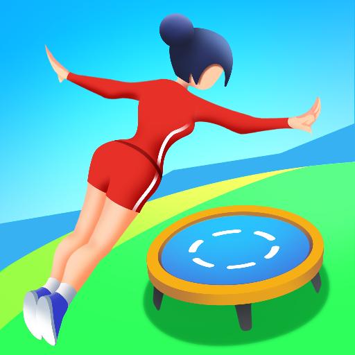 """Jogo legal de acrobacia!Corra, salte, gire e pouse!Seja a melhor cheerleader!"""