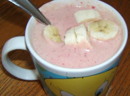 """Power Protein Pick-Me-Up Smoothie """"This is my favorite smoothie! Packed full of..."""