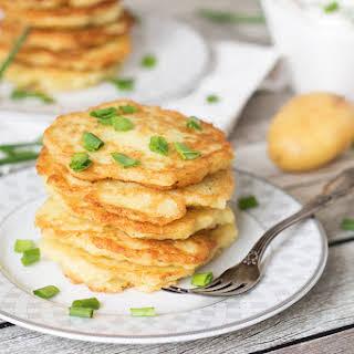 Polish Potato Pancakes.