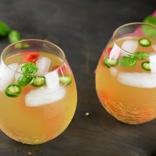 Serrano-Watermelon White Sangria