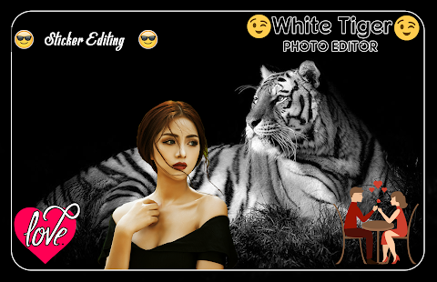 White Tiger Photo Editor - náhled