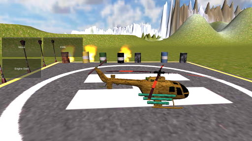 Helicopter 3D Simulator New