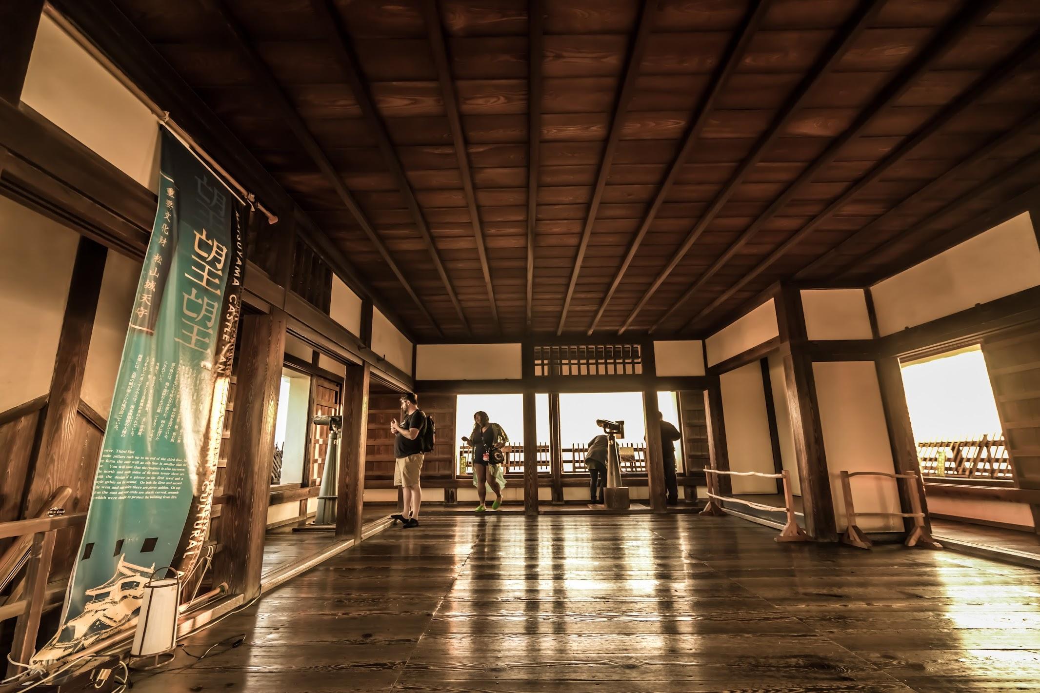 Matsuyama Castle tower2