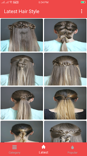 Girls Hairstyle Step by Step  screenshots 1