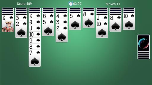 Spider Solitaire - لقطات شاشة مجانية لألعاب الورق Solitaire Fun 7