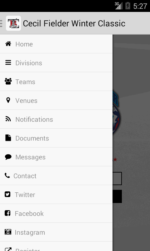 TBL Tournaments- screenshot