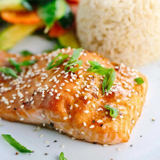 15 Minute Miso Salmon.
