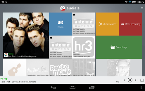 Radio Player by Audials- screenshot thumbnail