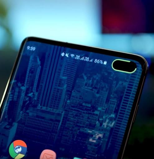 Energy Ring - Galaxy S10/e/5G/+ battery indicator! screenshot 2