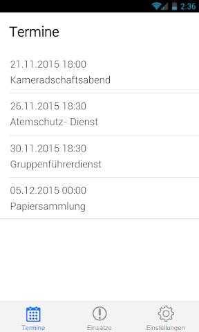 android Feuerwehr Schönaich Screenshot 0
