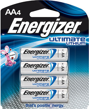 Energizer Ultimate Batteries - AA, Lithium, 4pk