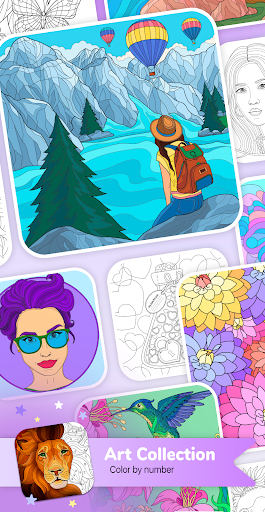 Art Collection Color by Number 1.2.0 screenshots 1