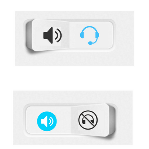 android headset toggle widget