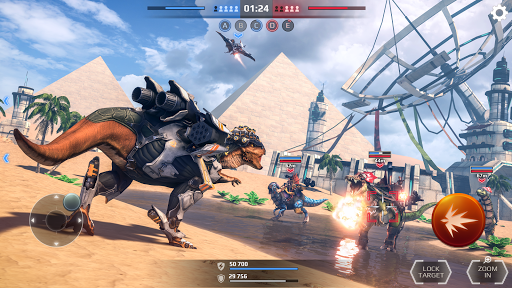 Jurassic Monster World: Dinosaur War 3D FPS  screenshots 2