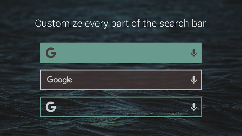 Custom Search Bar Widget CSBW Screenshot 3