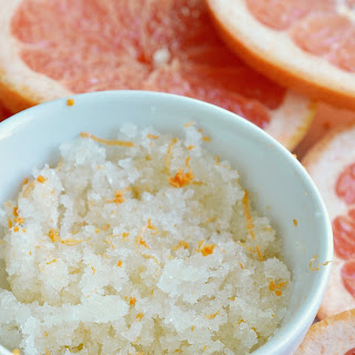 Grapefruit Sea Salt Body Scrub.