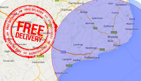 Free Delivery Map