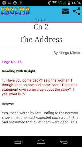 the address by marga minco Notemonk is an exciting new way to experience books an easy to use webtool helping students to prepare better by downloading books, taking notes, sharing questions, watching related videos and collaborating with their peers.