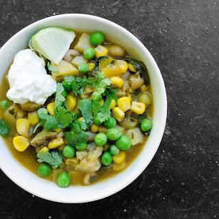 Smoky Potato, Corn and White Bean Stew
