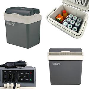 Lada frigorifica portabila, alimentare 12 V DC sau 220 V AC, 24 L