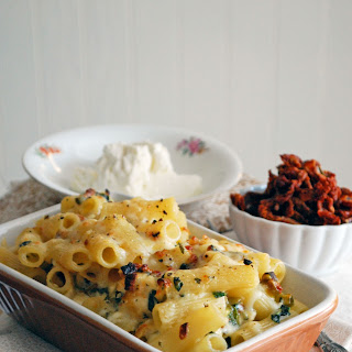 Mediterranean Macaroni and Cheese.