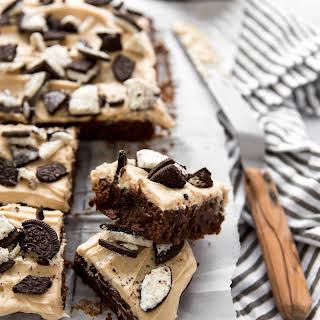 Mudslide Fudge Brownies.