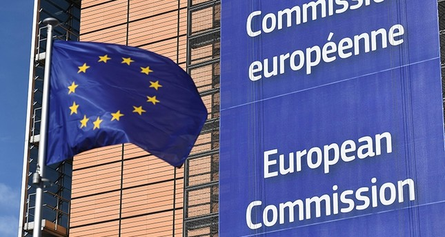 photo of the european commission flag