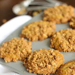 Banana Nut Muffins with Streusel