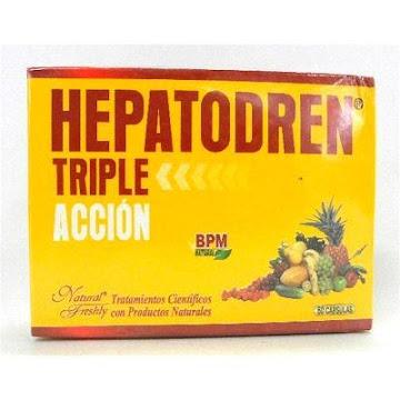HEPATODREN TRIPLE ACCION   BPM NATURAL CAJA X60CAP. NATURAL FRESHLY