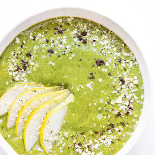 Caramel Cashew Green Smoothie Bowl