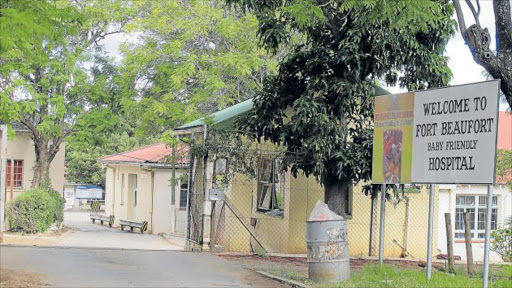 Fort Beaufort Hospital Picture: SILUSAPHO NYANDA
