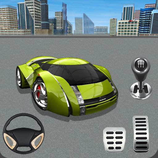 Futuristic Car Parking Game: Free Parking Game (game)