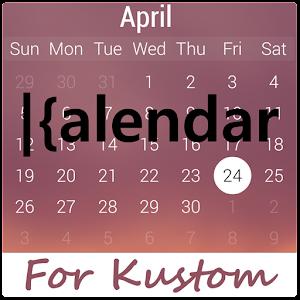 kCalendar for Kustom