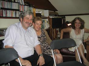 Photo: Marc Karell, his wife Linda Alpert,  Nina Arshavsky