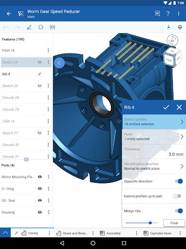 Onshape 3D CAD  screenshots 9