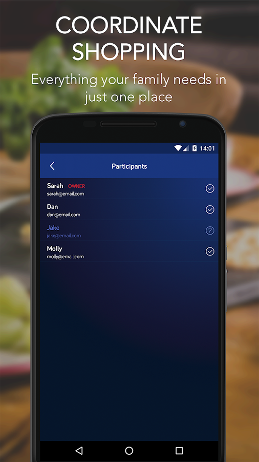 Shopping List – Shoptimix- screenshot