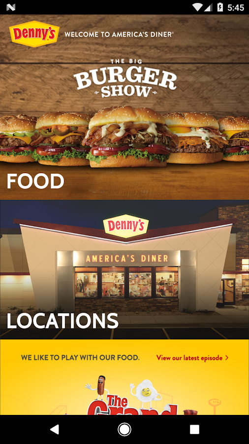 Denny's- screenshot