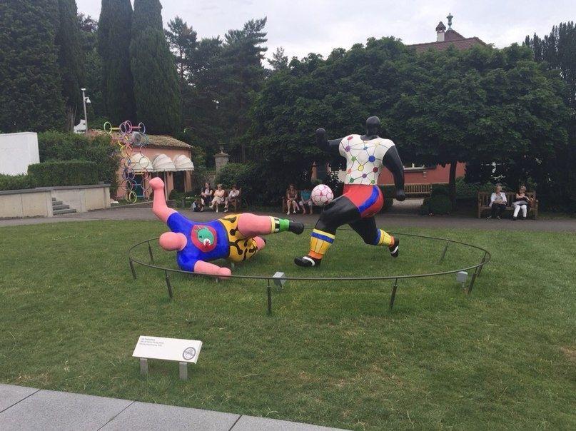 Олимпийский парк в Лозанне