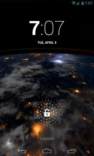 Earth At Night HD Live Wallpap