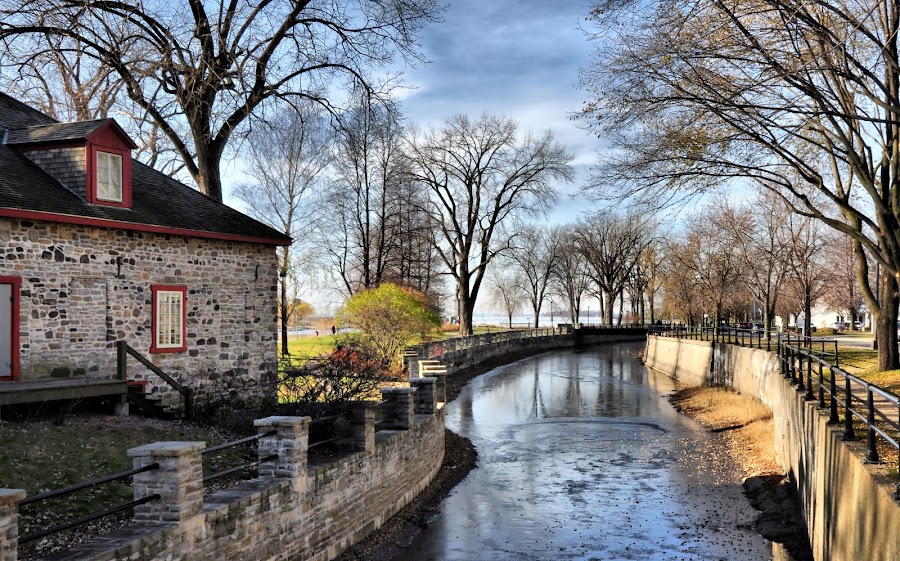 Lachine, Montreal, Quebec b by Costas Tsirgiotis - Landscapes Travel