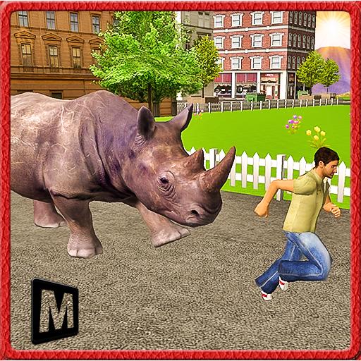 怒っているサイの復讐の3D:都市 模擬 App LOGO-硬是要APP