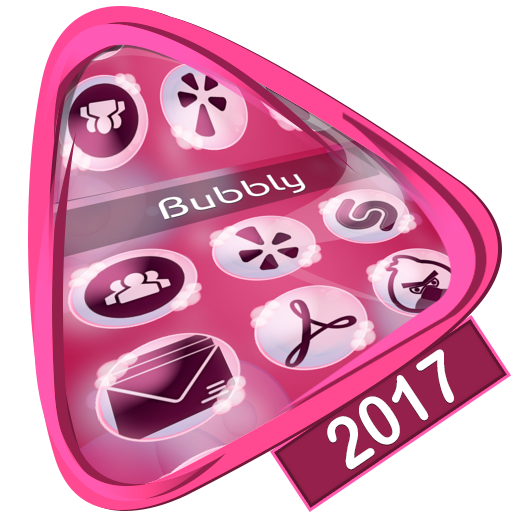 Bubbly Launcher 2017