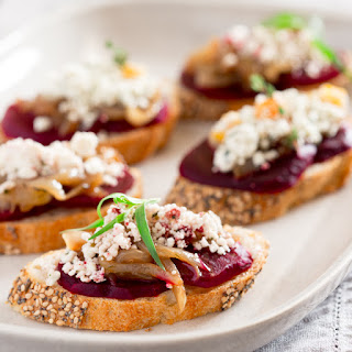 Goats Cheese And Caramelized Onion Appetizers Recipes