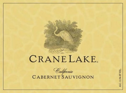 Logo for Crane Lake Cabernet Sauvignon