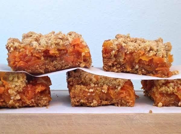 Vanilla Bean & Carrot Crumb Bars!